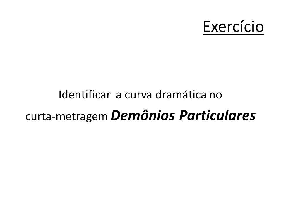 Exercício Identificar a curva dramática no curta-metragem Demônios Particulares