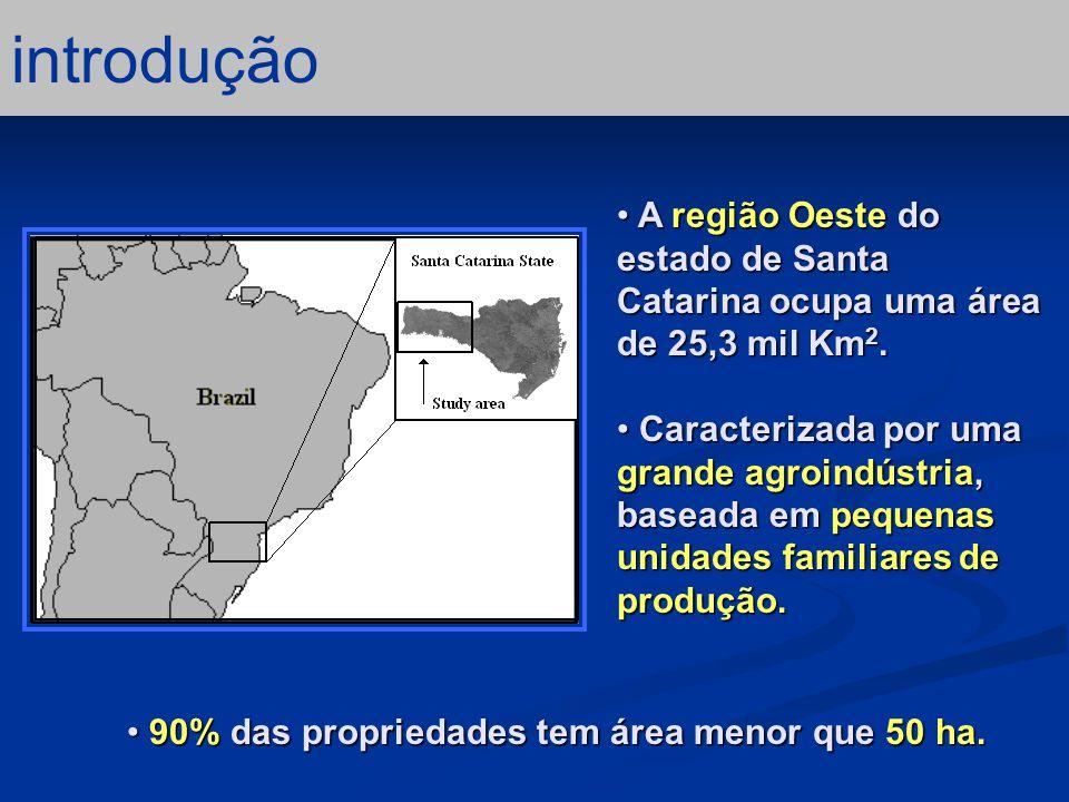 a região Possui o maior pólo agro industrial de suínos e aves do Brasil.