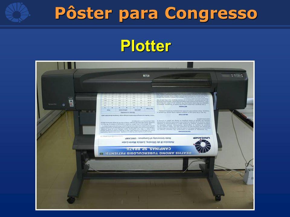Pôster para Congresso Plotter