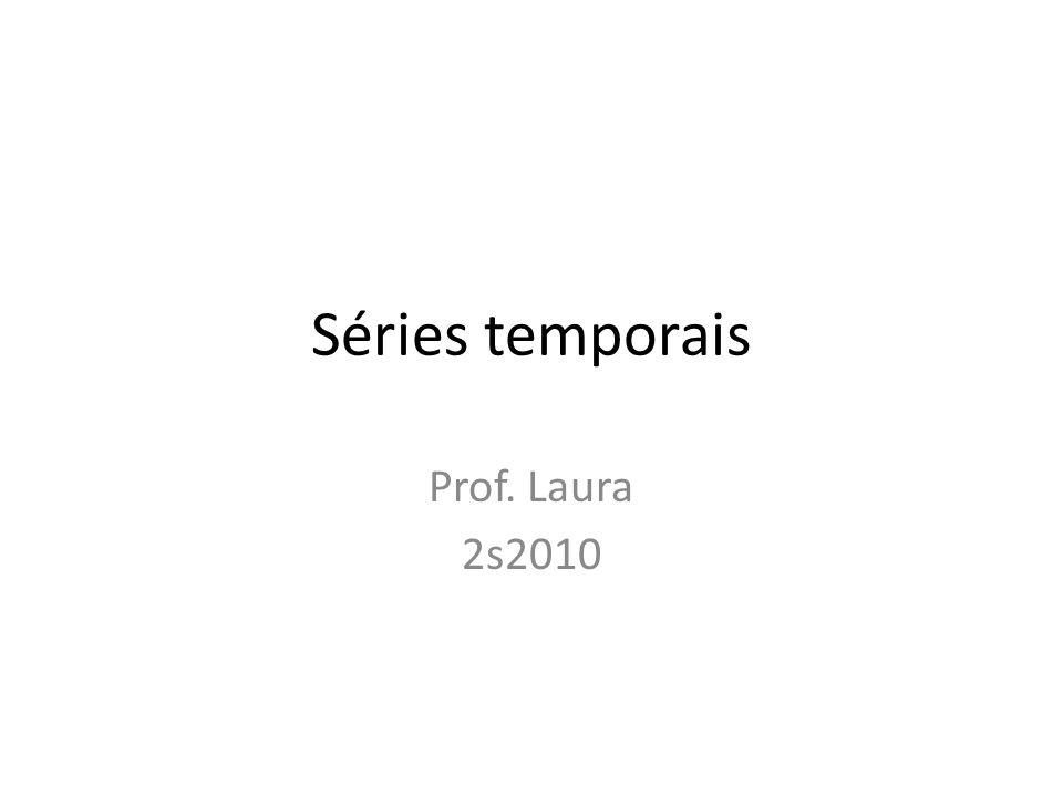 Séries temporais Prof. Laura 2s2010