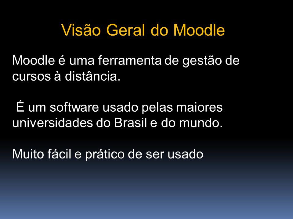 O Moodle é um software para produzir e gerenciar atividades educacionais baseadas na Internet e/ou em redes locais.