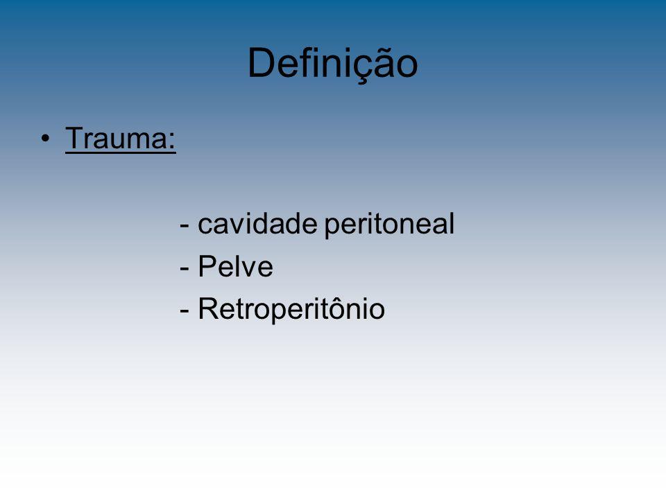 Introdução Que mata no trauma abdominal.