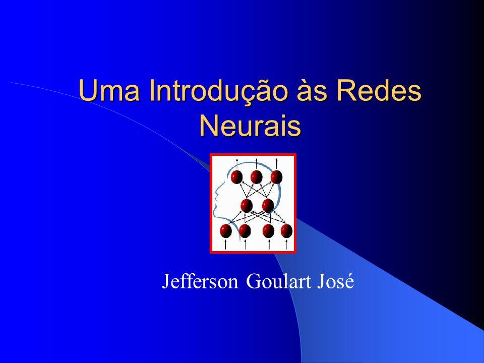 Uma Introdução às Redes Neurais Jefferson Goulart José