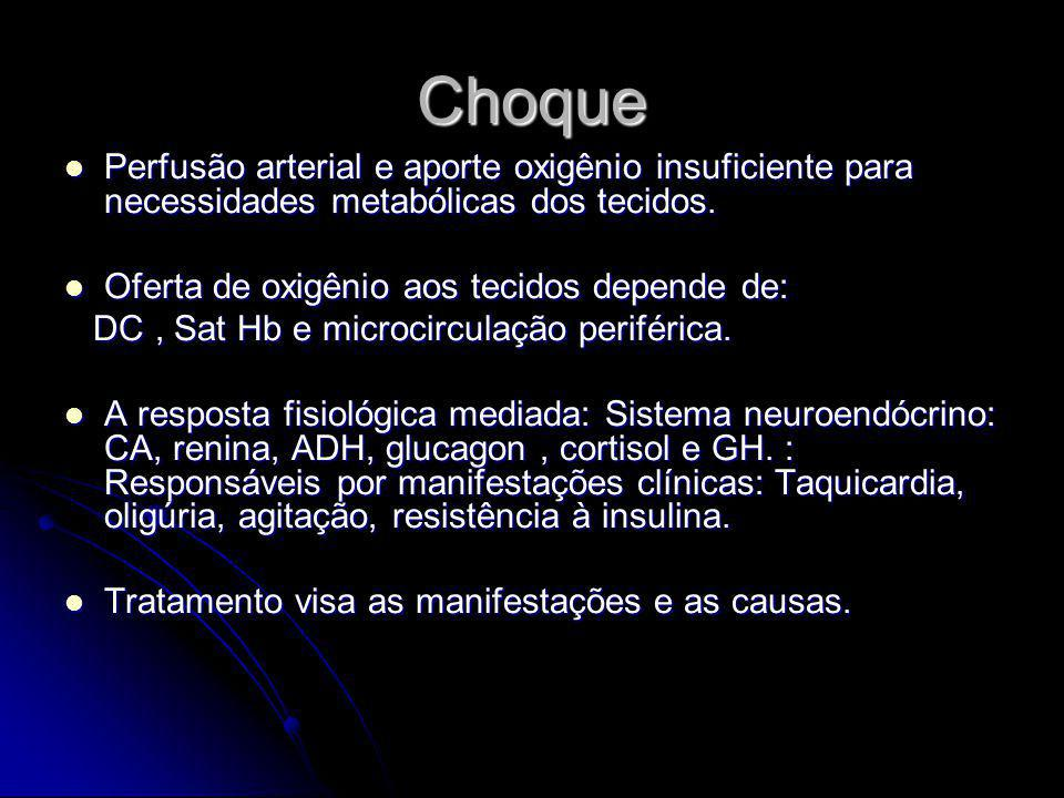 Medicamentos Cálcio iônico Bicarbonato de Sódio Vasopressores: Dopamina, dobutamina, diuréticos, trombolíticos, morfina, nitroglicerina,antiarritmicos.