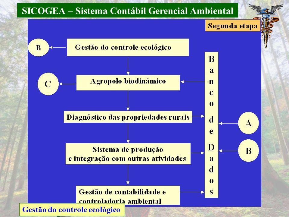 SICOGEA – Sistema Contábil Gerencial Ambiental Gestão do controle ecológico