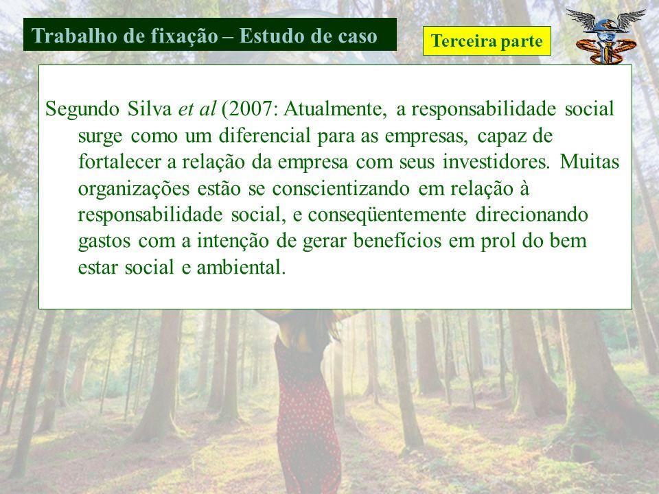 Verificar artigos em três Congressos ou no Centro de Sustentabilidade e gerenciamento da Alemanha www.nemac.ufsc.br que tratam sobre os temaswww.nemac