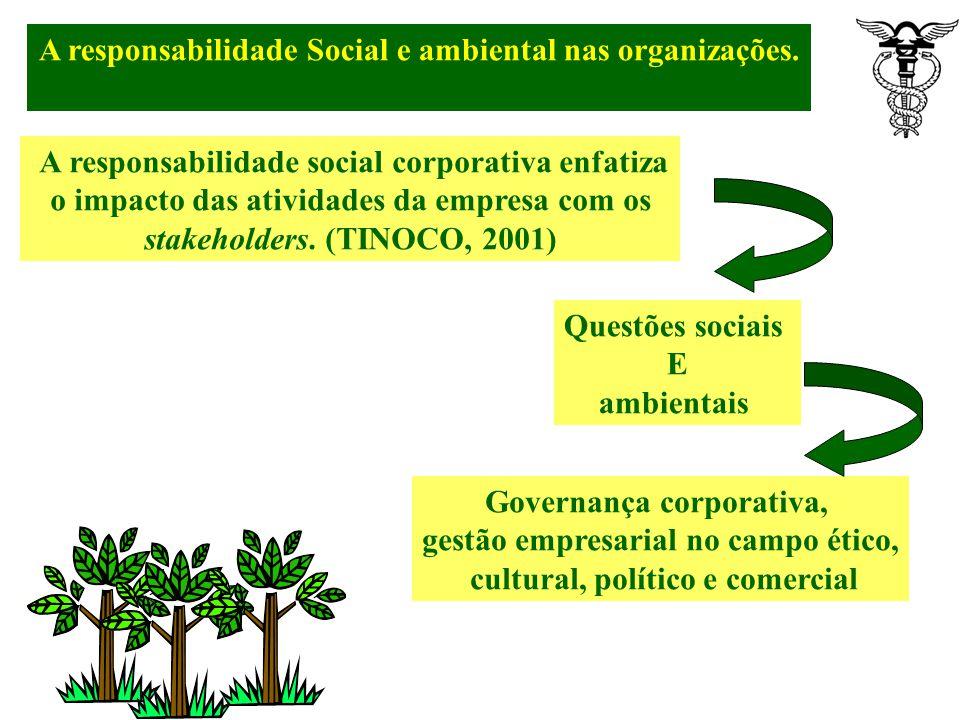 A organização pensa na certificação- Ações Participa de ações não lucrativas Áreas como cultura, assistências social, educação, saúde, ambientalismo e