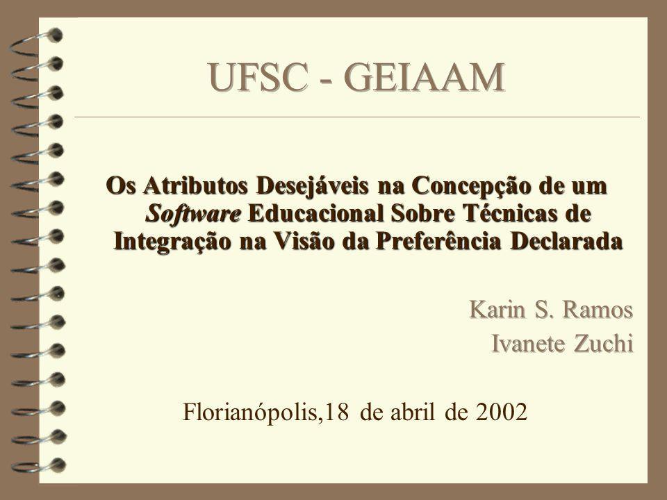 Estrutura Objetivos O Problema Técnica de Preferência Declarada Metodologia Resultados Conclusões Referências