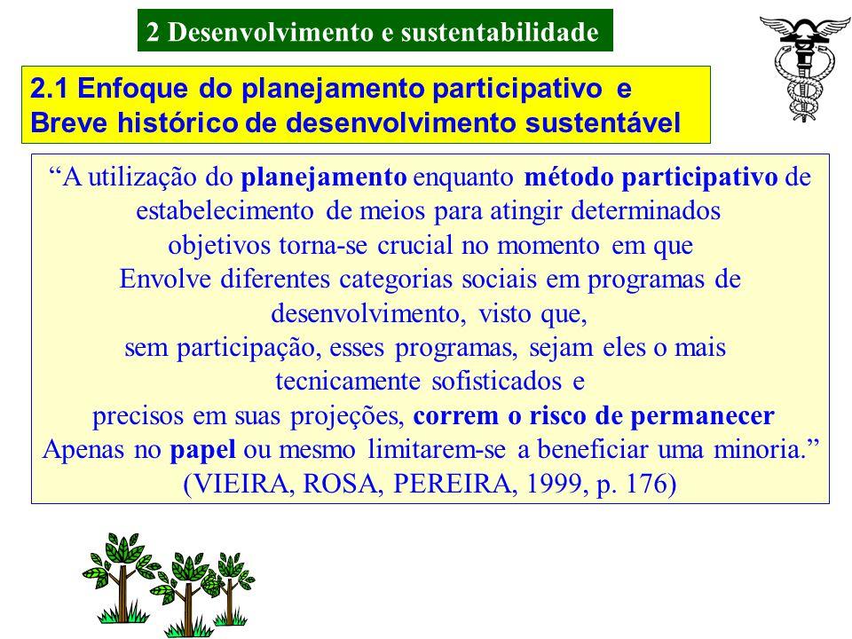 2 Desenvolvimento e sustentabilidade Sustentabilidade biofísica Atividade ambiental: Proteção ambiental; Principais áreas de preocupação: Contaminação do ambiente pelos agrotóxicos e efluentes das agroindústrias; Saúde e saneamento da população em geral; Atividades mitigadoras ou compensatórias: Minimizar o uso de agrotóxicos; Controle de efluentes das agroindústrias; Uso de Controles biológicos de pragas e doenças; Qualificação de pessoal técnico na área ambiental; Programas de higiene e educação ambiental.