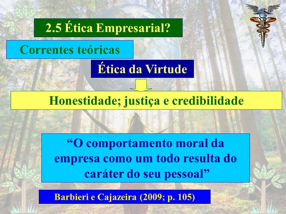 2.5 Ética Empresarial? Barbieri e Cajazeira (2009; p. 97) Trata-se de Ética empresarial? Suborno e corrupção de agentes do governo? Posicionamento sob