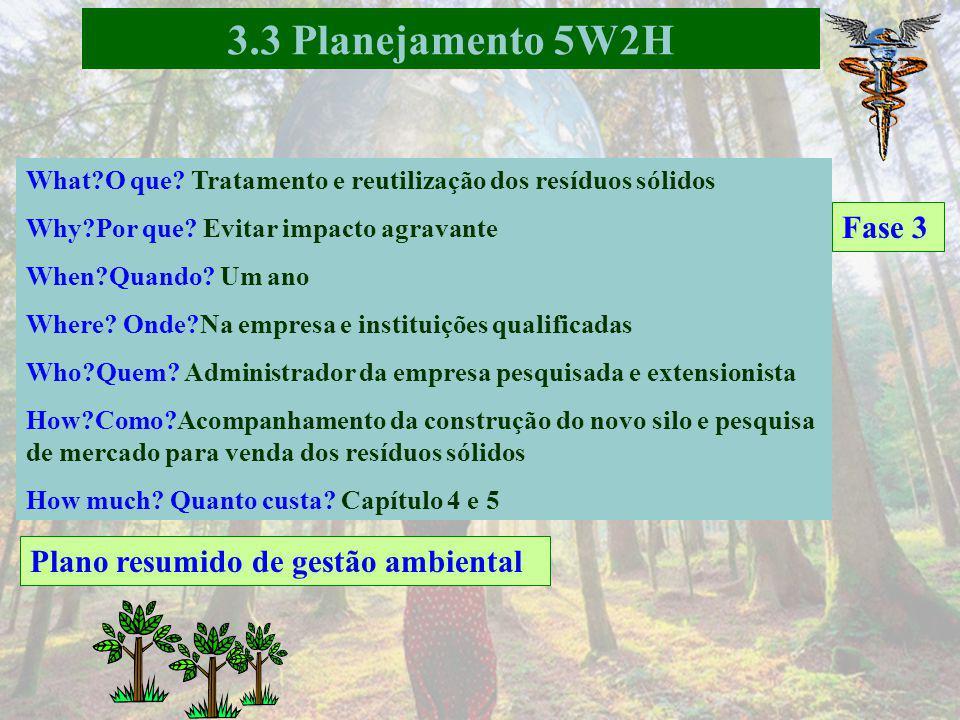 Fase 3 3.3 Planejamento 5W2H