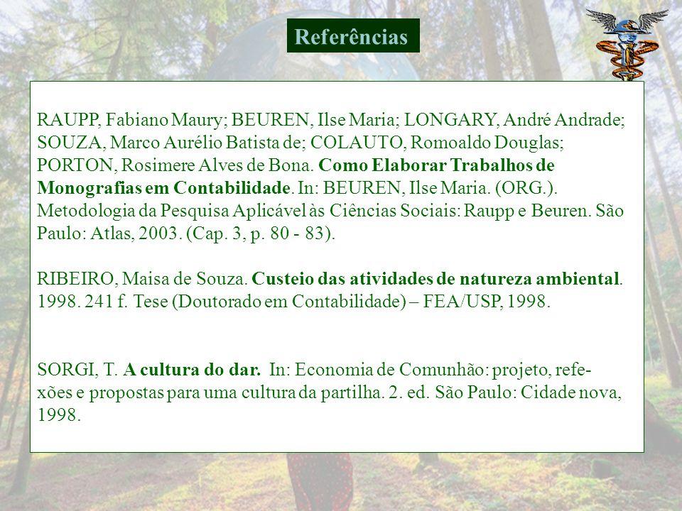 QUARTANA, P. Economia de Comunhão. São Paulo: Cidade Nova, 1992. QUARTANA, P. A. Economia de Comunhão do pensamento de Chiara Lubich. In: Economia de