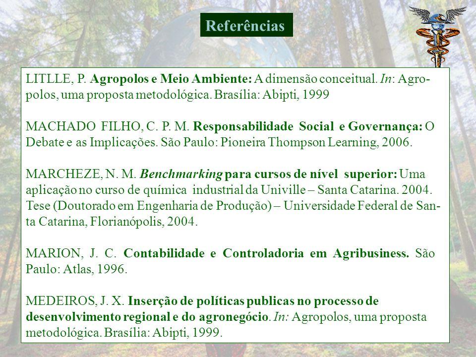 LITLLE, P.Agropolos e Meio Ambiente: A dimensão conceitual.
