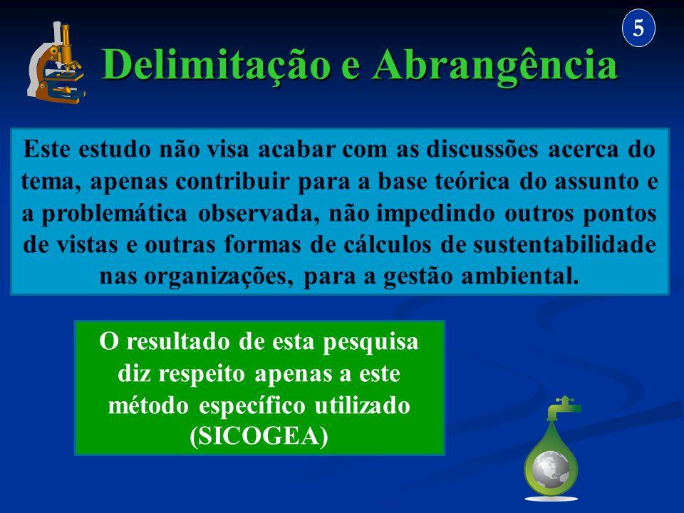Delimitação e Abrangência 5 Este estudo não visa acabar com as discussões acerca do tema, apenas contribuir para a base teórica do assunto e a problem
