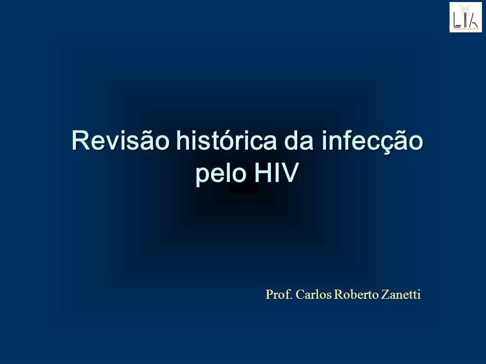 Revisão histórica da infecção pelo HIV Prof. Carlos Roberto Zanetti