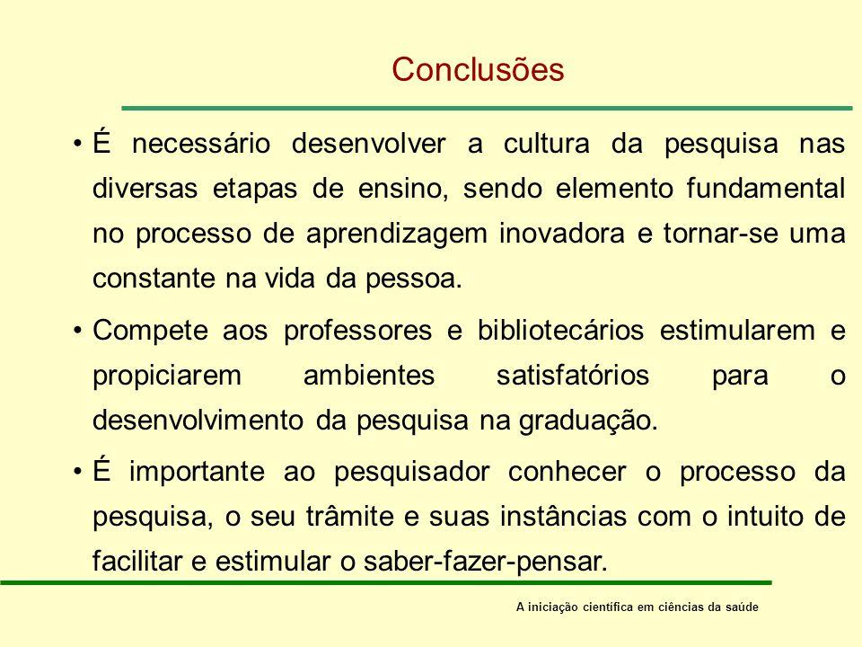 Questões: o uso e o acesso à informação onde e como o pesquisador pode acessar as diferentes fontes de informação.