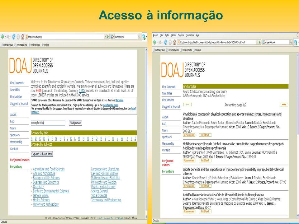 OPUS – metamecanismo de busca http://elib.uni- stuttgart.de/opus/gemeinsame_suche.php http://elib.uni- stuttgart.de/opus/gemeinsame_suche.php Meta-mecanismo de busca nos Arquivos Abertos de Universidades
