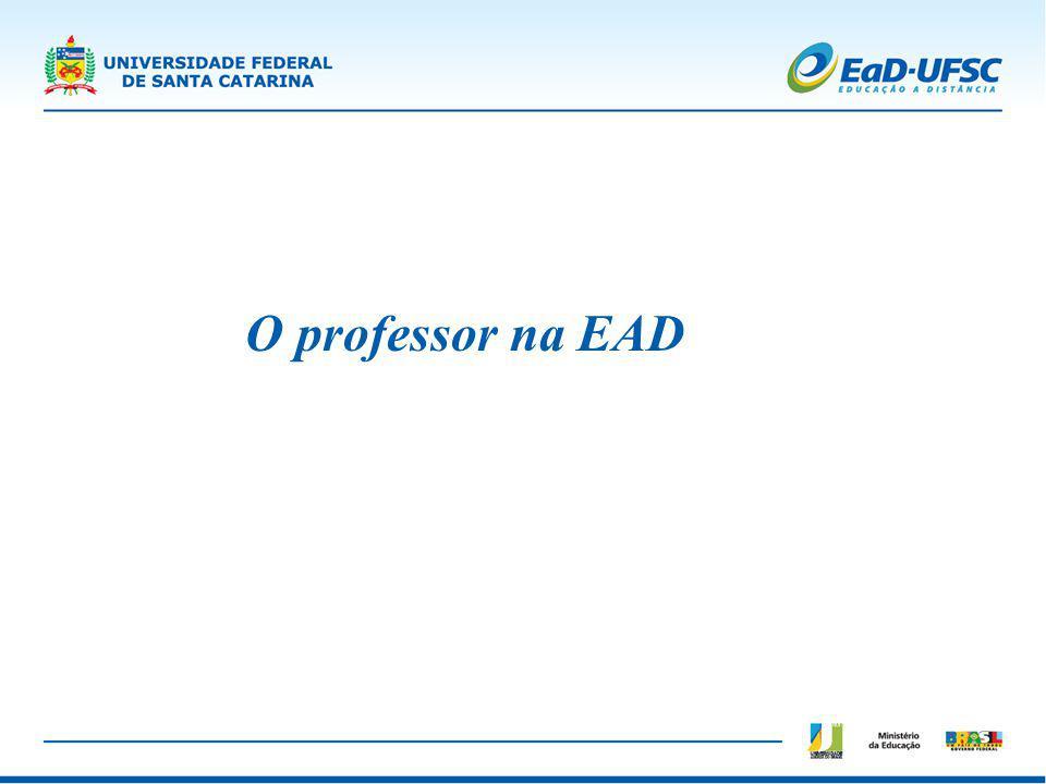 O professor na EAD