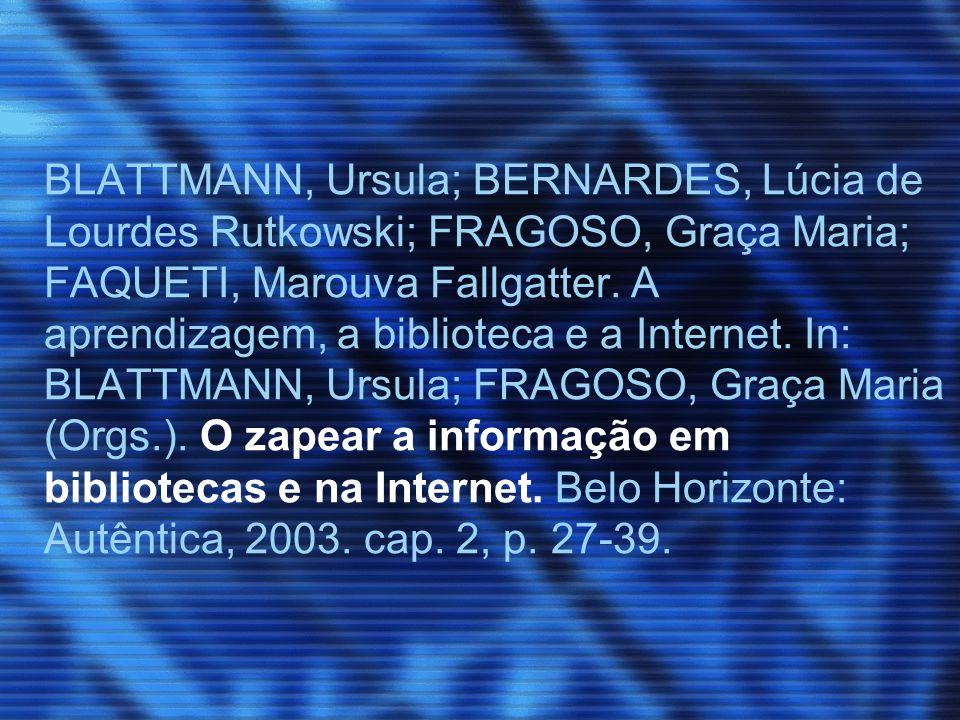 Nas organizações: BARRETO, Margarida; GERVAISEAU, Maria Benigna Arraes de Alencar.