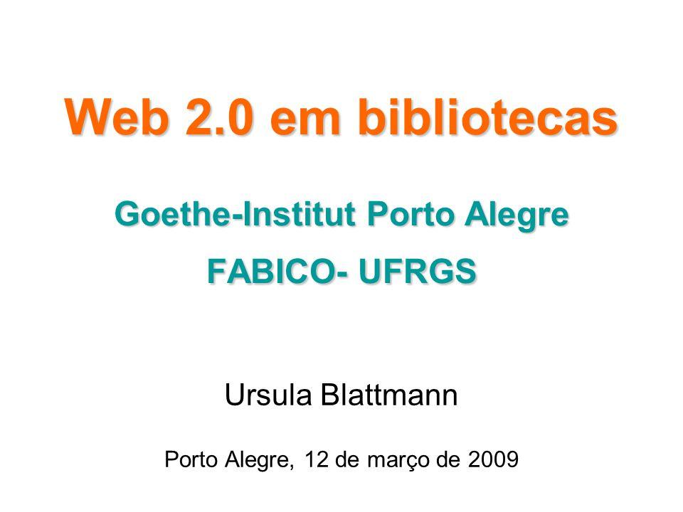 Conceitos O termo Web 2.0 refere-se a mudança para uma Internet como plataforma e um entendimento das regras para obter sucesso nesta nova plataforma.
