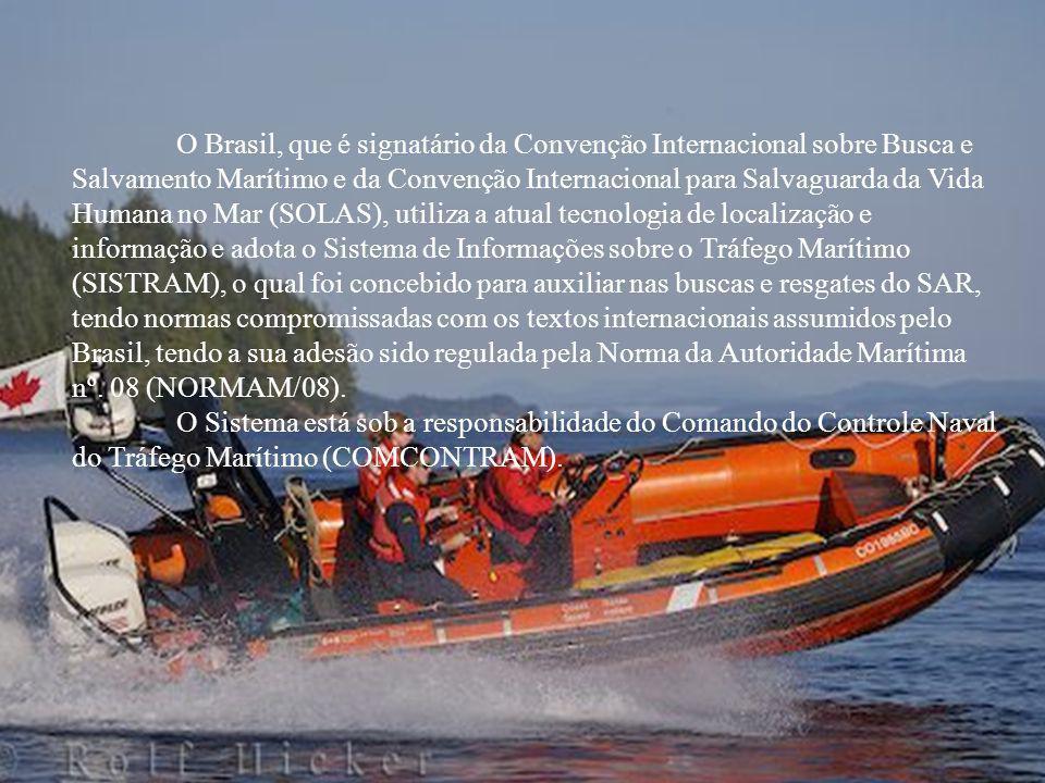 O Brasil, que é signatário da Convenção Internacional sobre Busca e Salvamento Marítimo e da Convenção Internacional para Salvaguarda da Vida Humana n