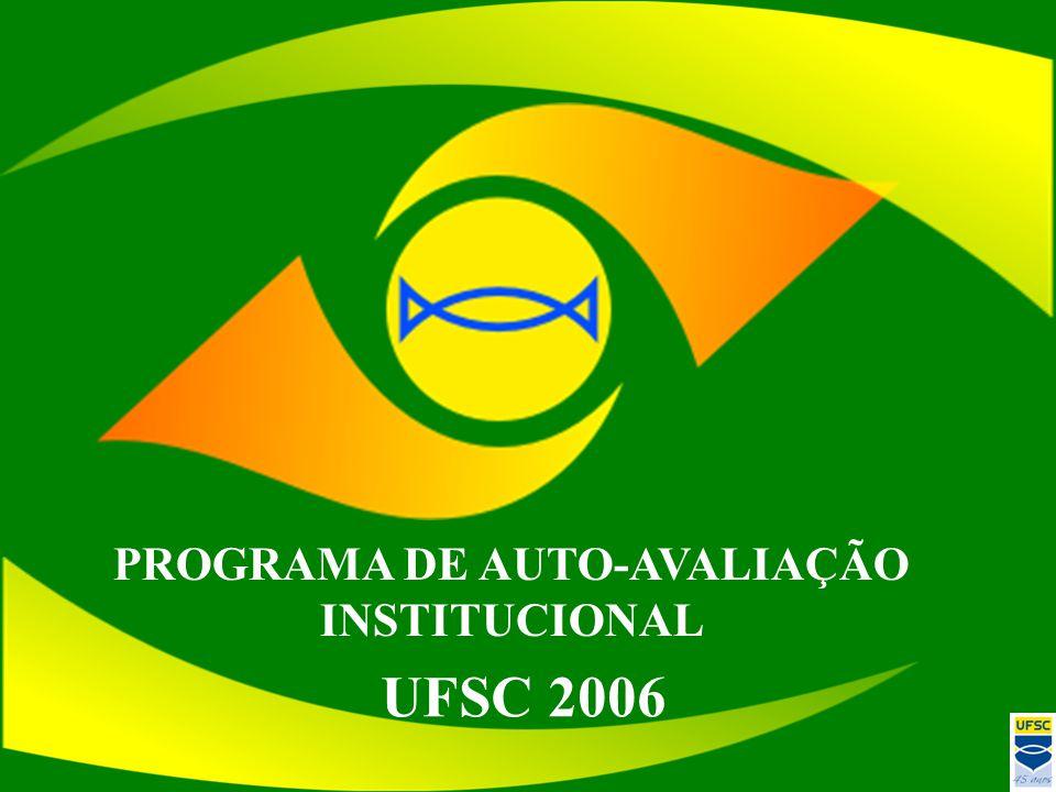 PROGRAMA DE AUTO-AVALIAÇÃO INSTITUCIONAL UFSC 2006