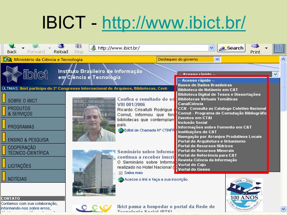 IBICT - http://www.ibict.br/http://www.ibict.br/