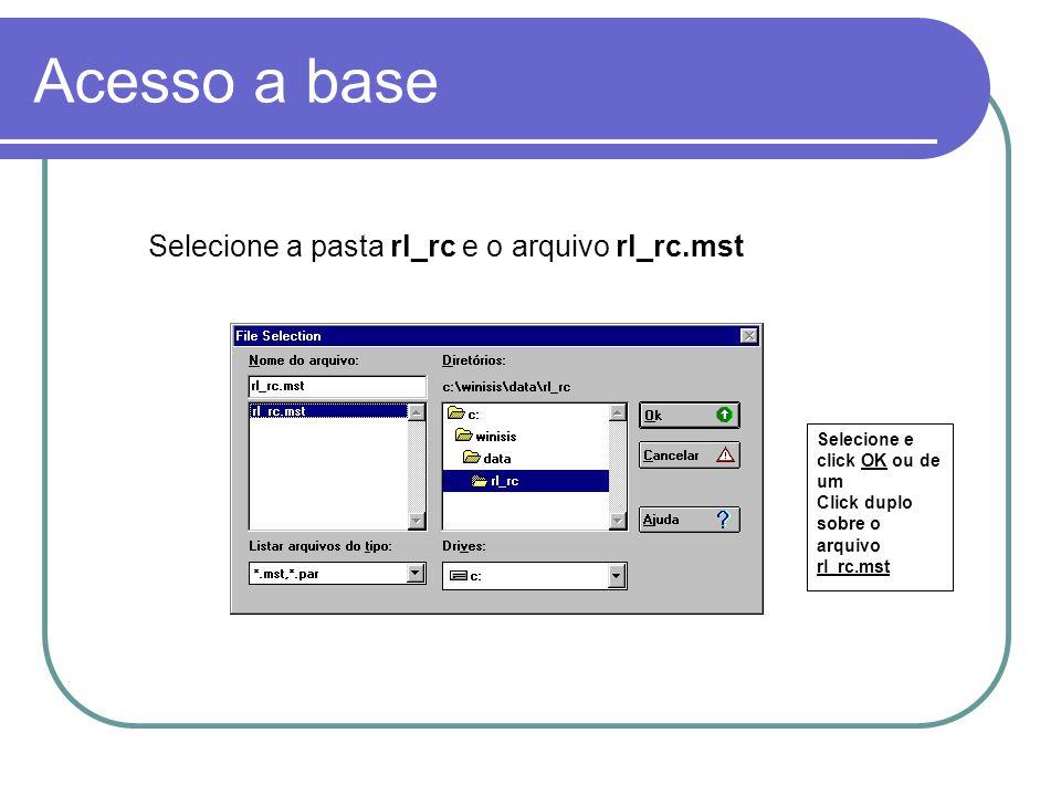 Formato de apresentação Barra de Status Barra de Ferramentas (Botões) Barra de Menus
