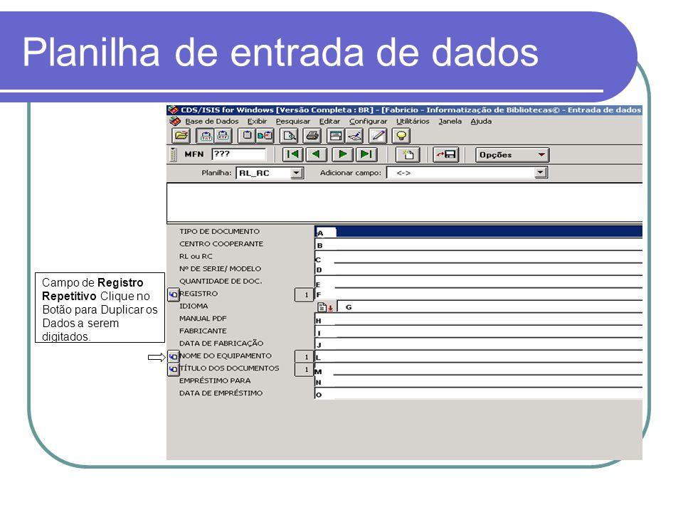 Ajuda TIPO DE DOCUMENTO (A) – Digitar a letra J.Obrigatório; CENTRO COOPERANTE (B) – Digitar INF.