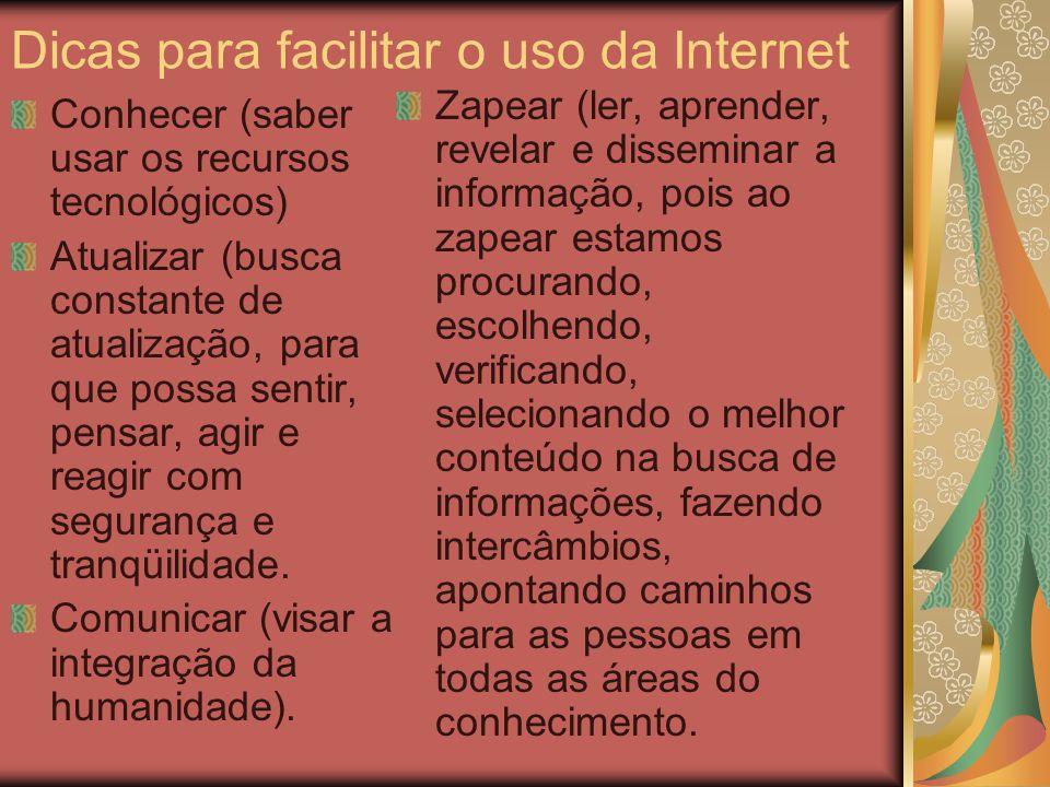 Mau uso da internet Problemas com downloads; Mau uso do equipamento; Bate-papos; Spams; Vírus.