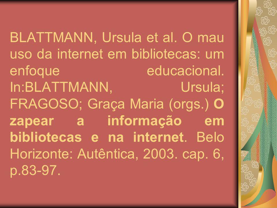 CURSO DE BIBLIOTECONOMIA Professora: Úrsula Acadêmica: Deise Mesquita Pedroso Pascoa – 6ª fase Universidade Federal de Santa Catarina 2005