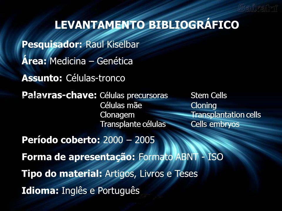UNIVERSIDADE FEDERAL DE SANTA CATARINA CENTRO DE CIÊNCIAS DA EDUCAÇÃO Curso de Biblioteconomia Controle do Registro do Conhecimento III Profª Ursula Blatmann Graduandos: Edson Roberto Mohr – edsonufsc@yahoo.com.br edsonufsc@yahoo.com.br Josiane Mello – josianemello82@yahoo.com.br josianemello82@yahoo.com.br Florianópolis 2005