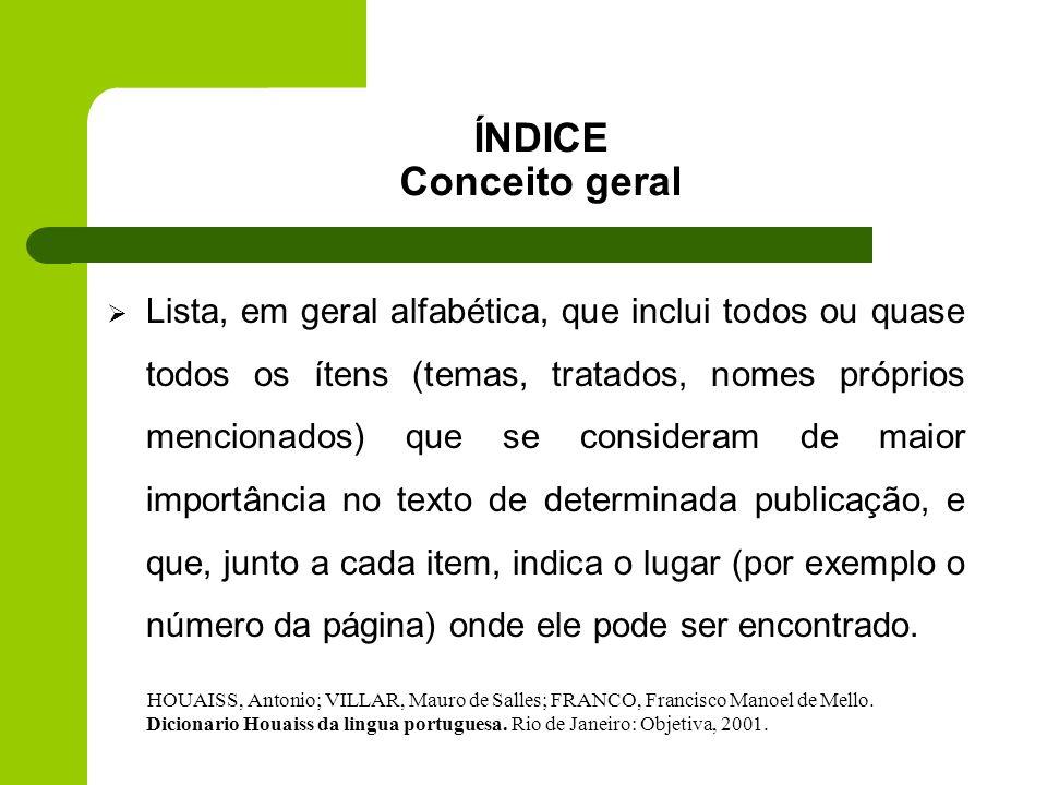 Universidade Federal de Santa Catarina Curso de Biblioteconomia Disciplina: Controle dos Registros do Conhecimento II - CIN 5431 Professora: Ursula Bl