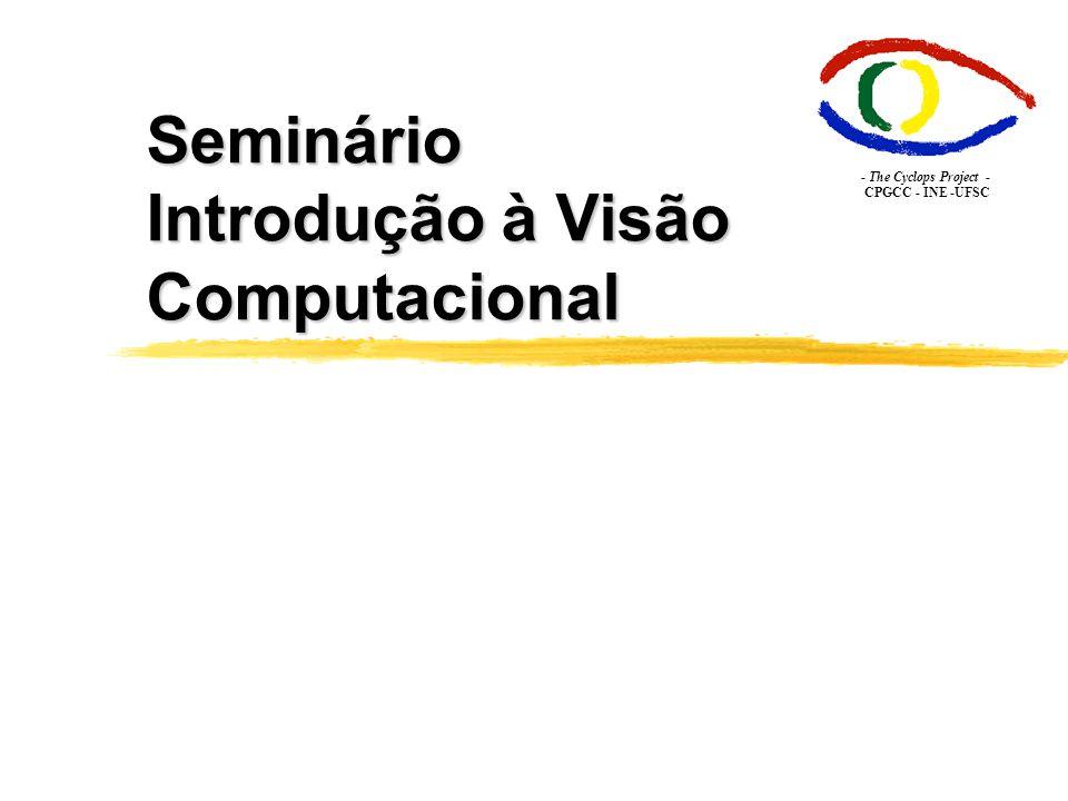 Seminário Introdução à Visão Computacional - The Cyclops Project - CPGCC - INE -UFSC