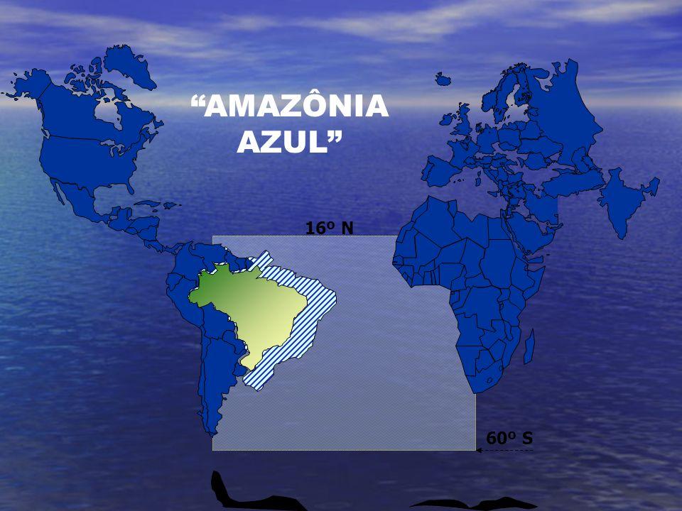 60º S 16º N AMAZÔNIA AZUL