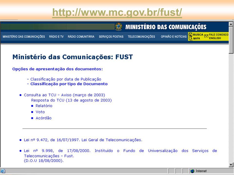 http://www.mc.gov.br/fust/