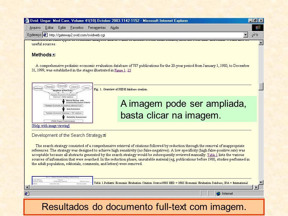 Resultados do documento full-text com imagem. A imagem pode ser ampliada, basta clicar na imagem.