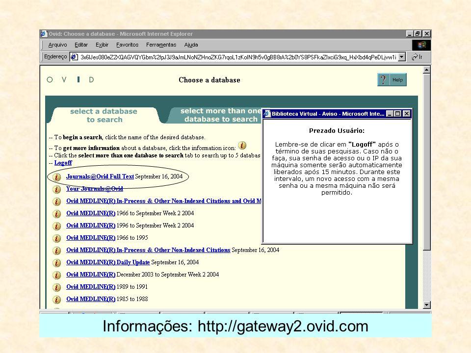 Informações: http://gateway2.ovid.com