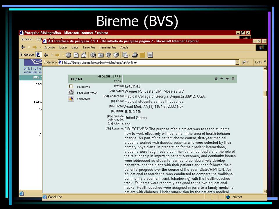 Bireme (BVS)