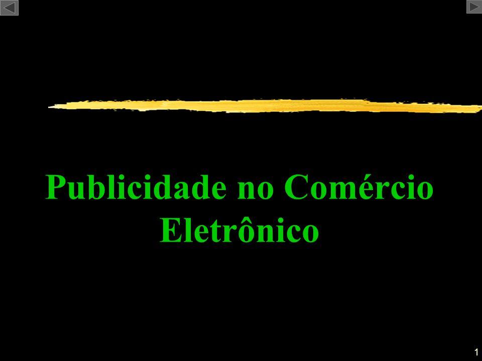 1 Publicidade no Comércio Eletrônico