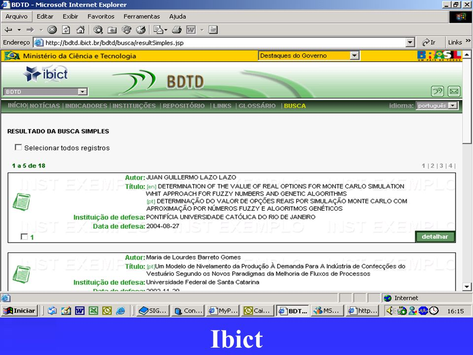 Ibict
