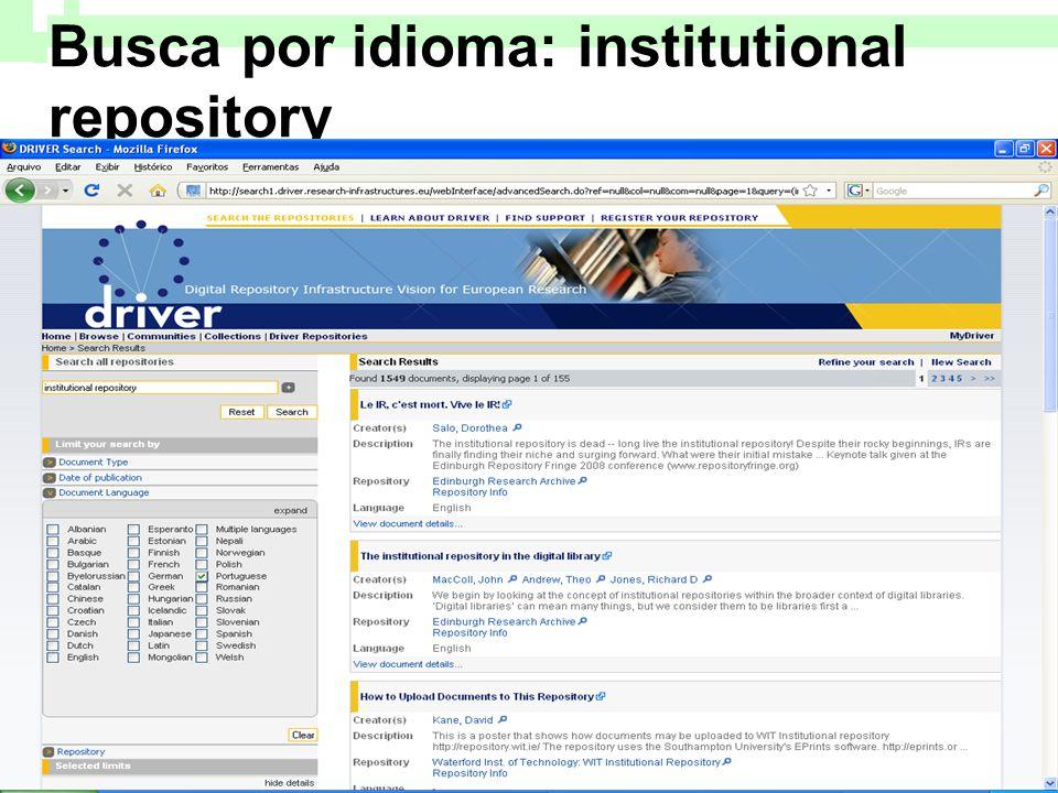 Busca por idioma: institutional repository