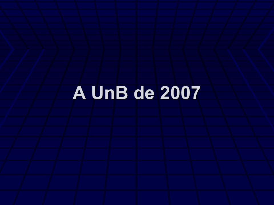 A UnB de 2007