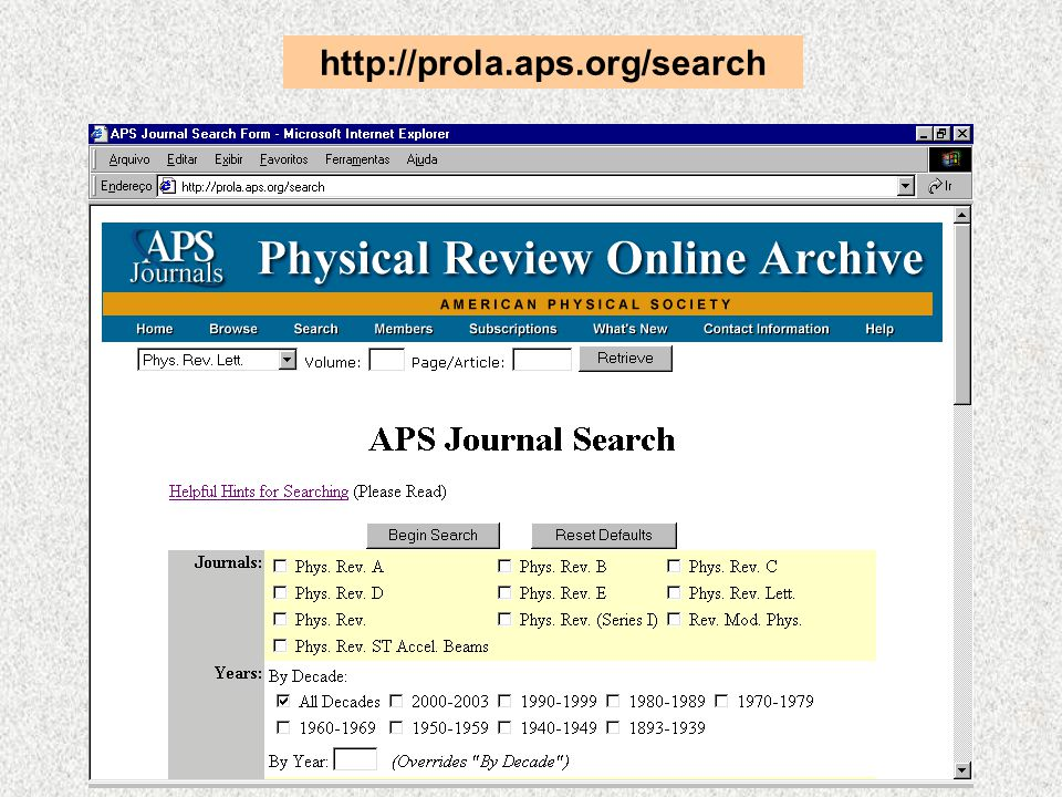 http://prola.aps.org/search