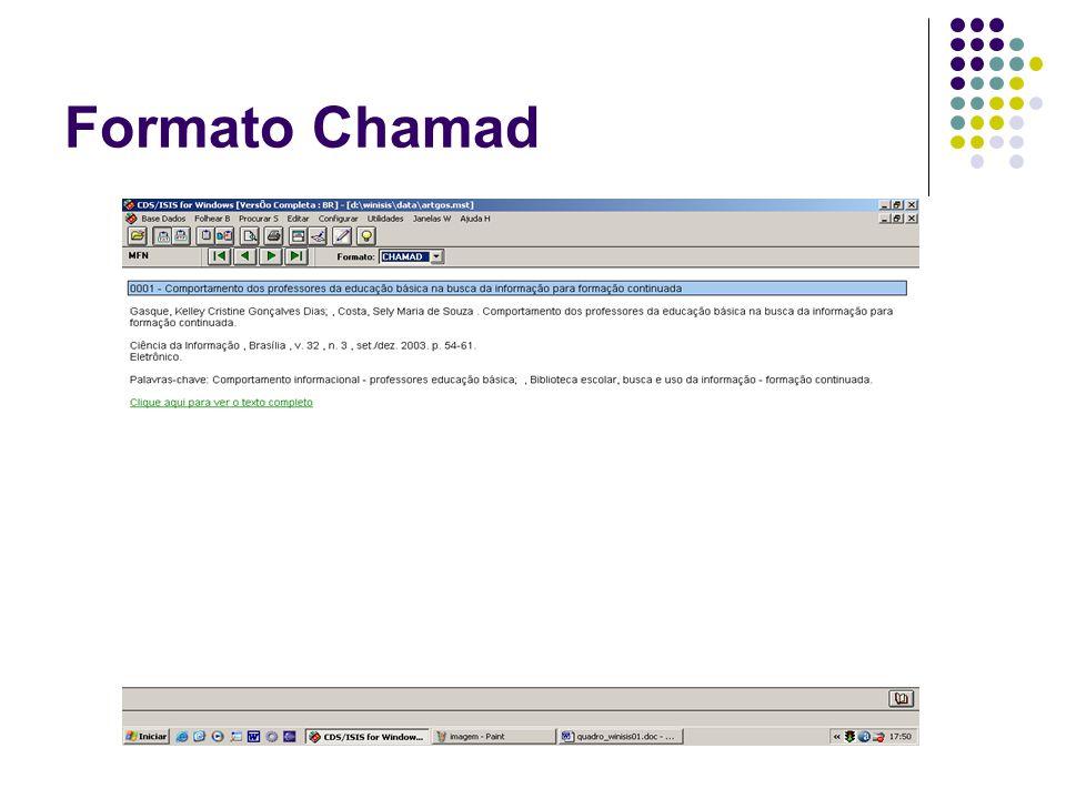 Formato Chamad