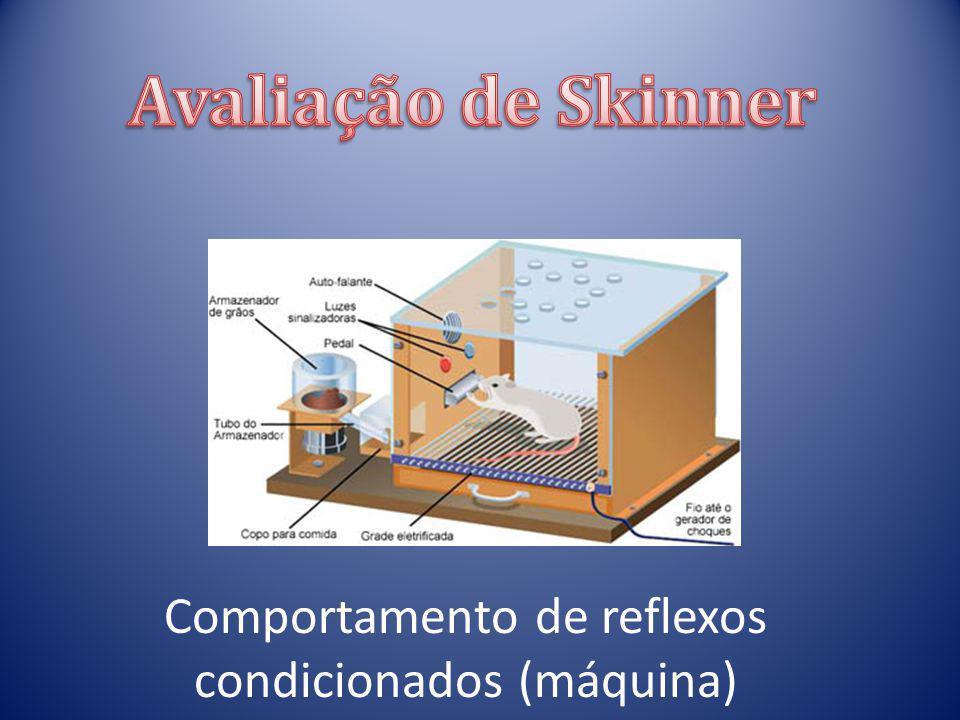 Comportamento de reflexos condicionados (máquina)