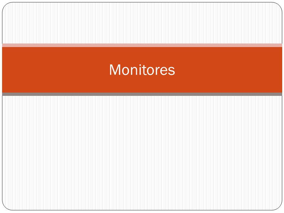 Monitores em Java Uma linguagem atual que oferece o uso de monitores é Java.