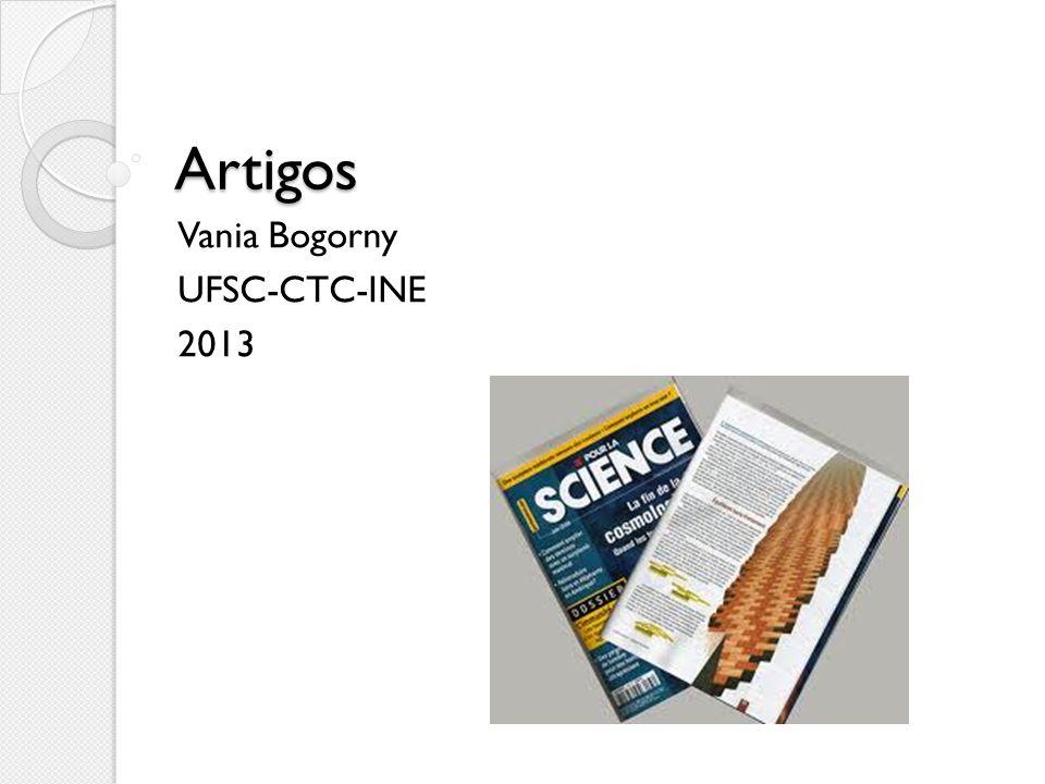 Artigos Vania Bogorny UFSC-CTC-INE 2013