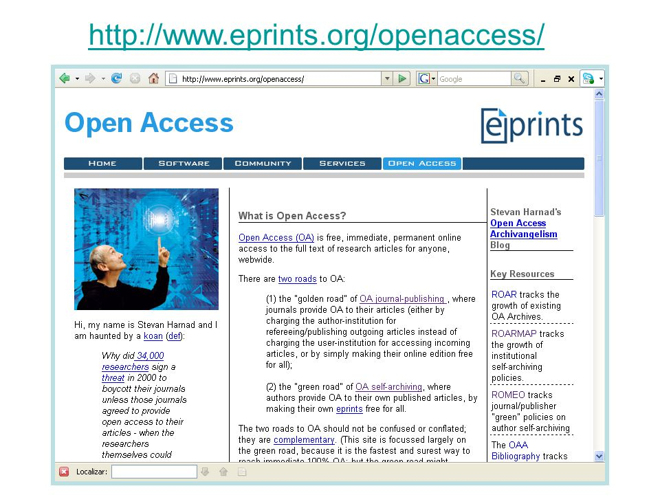 http://www.eprints.org/openaccess/