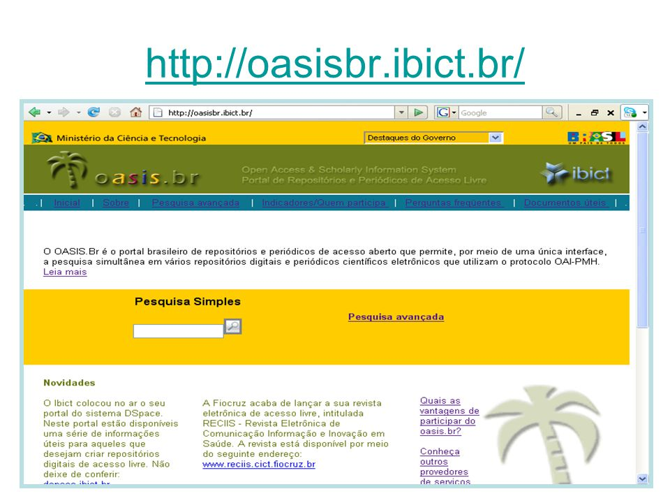 http://oasisbr.ibict.br/